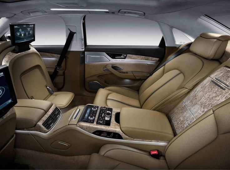 The interiors of Audi A8 can be beautified and customized with 23 different colors. So, now match your car's style with your style !!