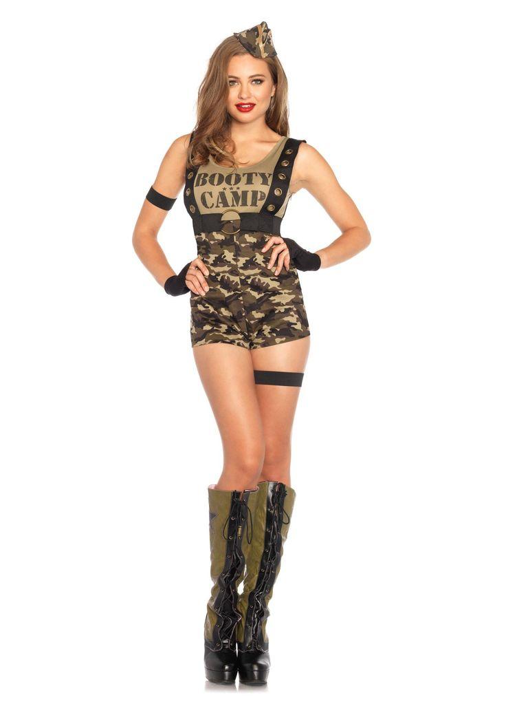 Military girl costume
