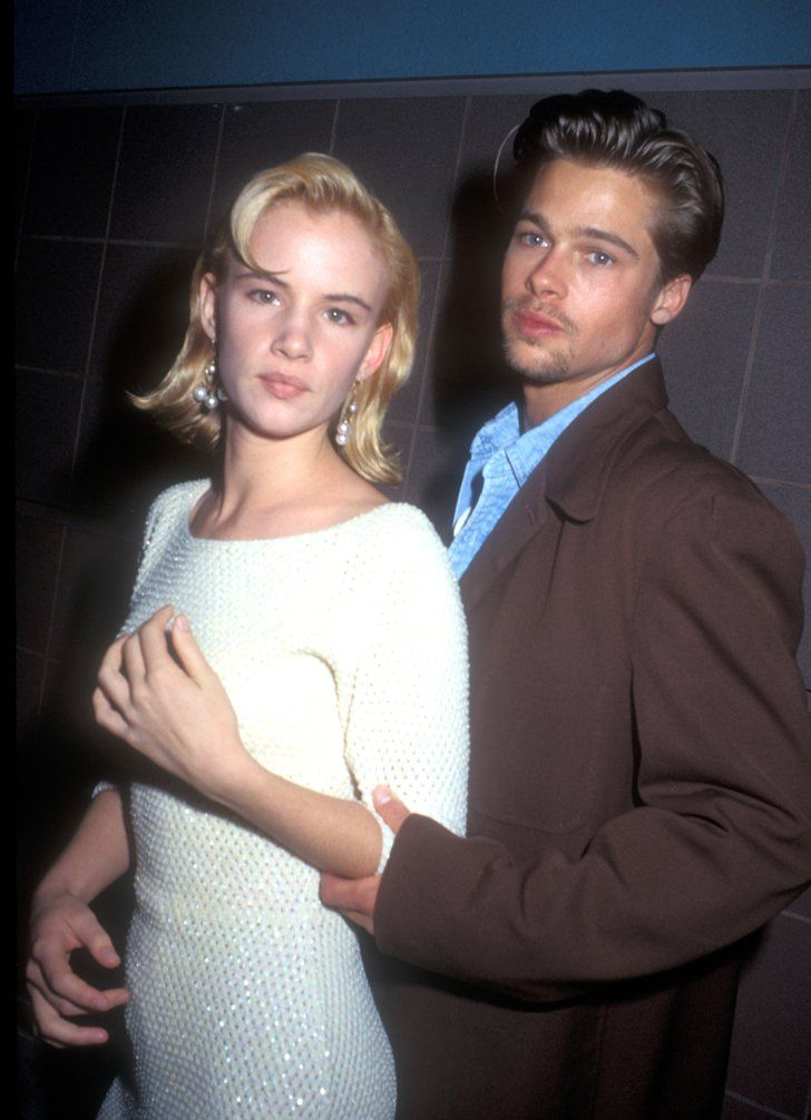 Pin for Later: 51 Things You Might Not Know About Brad Pitt He Doesn't Mind Younger Women In 1989, the then 25-year-old Brad Pitt started dating 16-year-old Juliette Lewis.