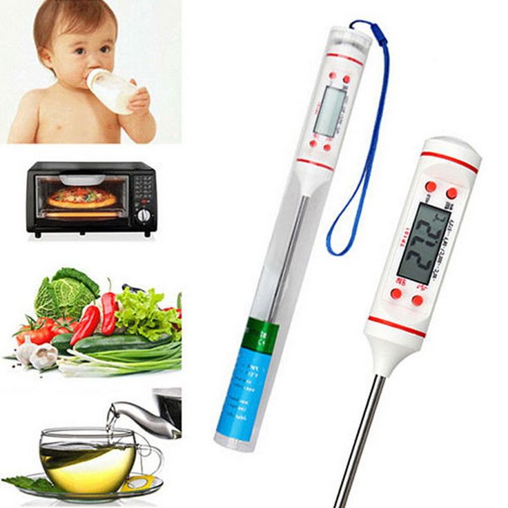 1 PC Kitchen Digital Cooking Food Meat Probe Thermometer BBQ Temperature Sensor Meter termometro digitale station meteo P25