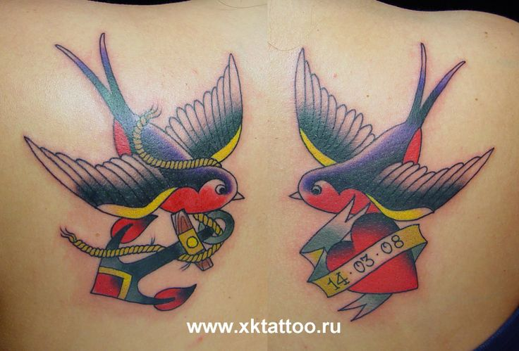 "traditional tattoo | Baby Dragon Year: Inspiration ""sparrow tattoos"""