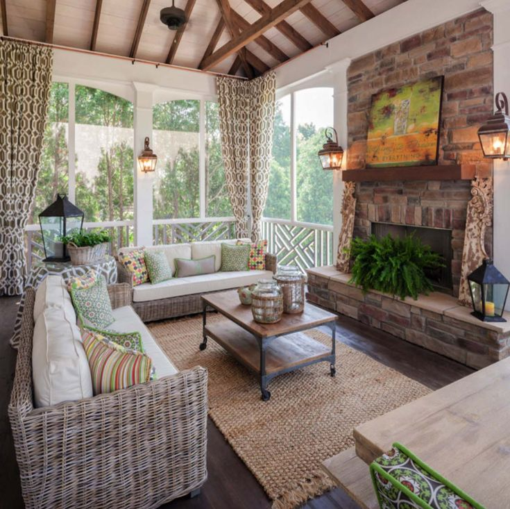 38 Amazingly cozy and relaxing screened porch