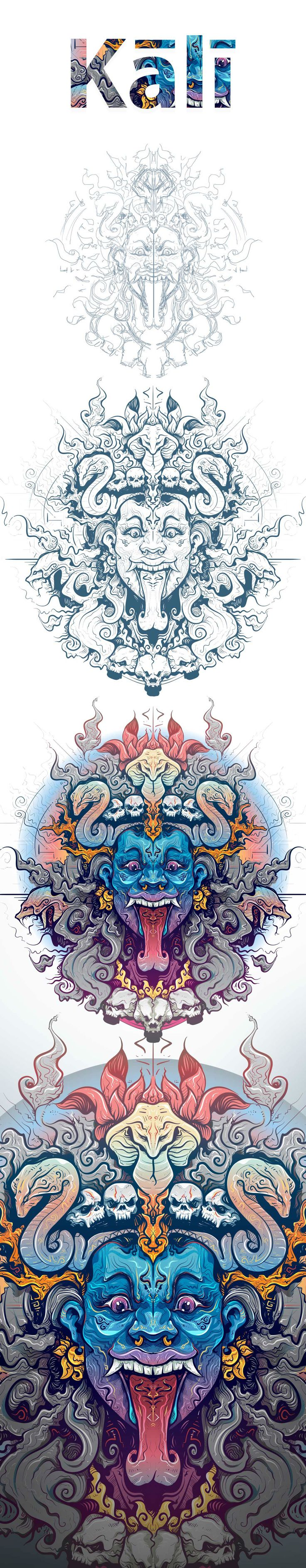 Kali on Behance