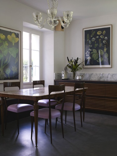 Beautiful dining chairs.