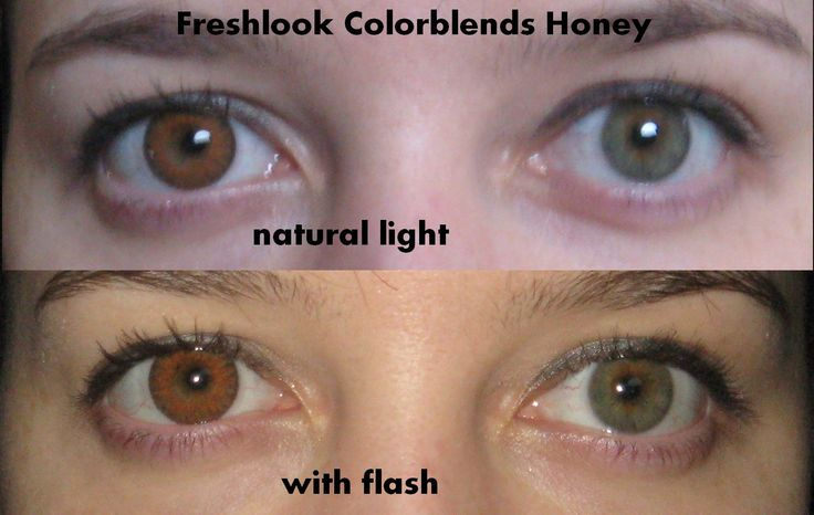 Sparkling And Glossy Freshlook Colorblends Circle Lenses