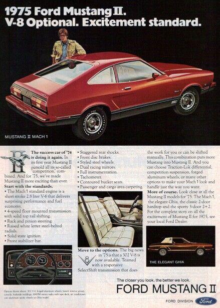 https://plus.google.com/+JohnPruittMotorCompanyMurrayville  1975 ford mustang II
