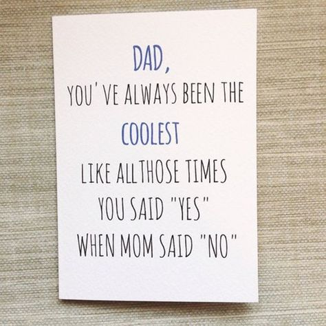 Funny Father Daughter Quotes Sayings Birthday Cards For Dad