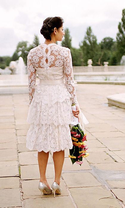 Vintage lace dress. Just Gorgeous !!
