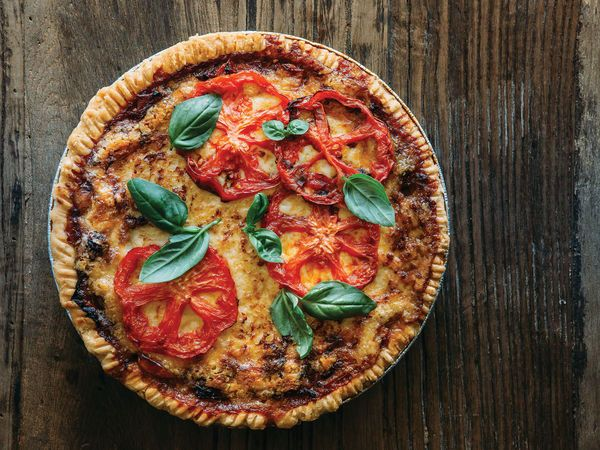 Tangy, buttery, and bursting with tomato flavor from Vivian Howard of Chef and the Farmer.