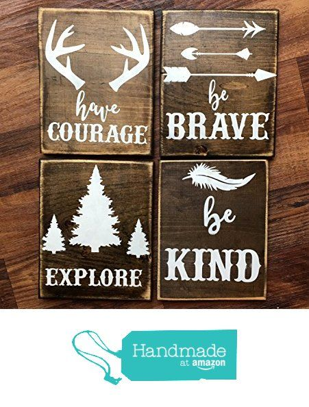 rustic nursery décor, woodland theme nursery, nursery signs, deer antler décor, arrow decor from DoodlesbyTrista https://www.amazon.com/dp/B01G43X6ES/ref=hnd_sw_r_pi_dp_h4sOxbKQ6G76F #handmadeatamazon