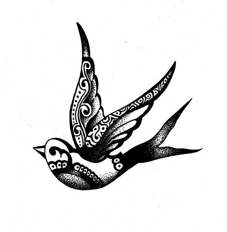 swallow tattoo2 | Flickr - Photo Sharing!