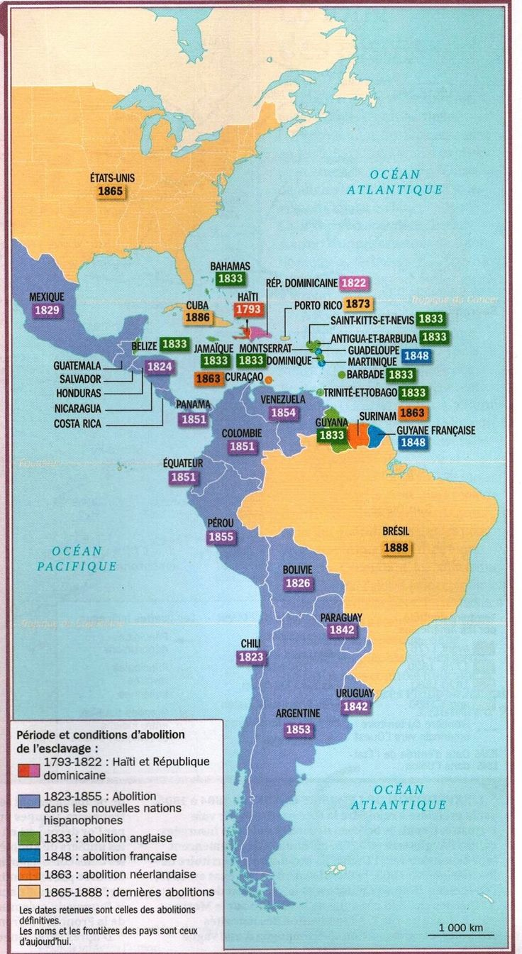 Abolition of slavery in the Americas [OC] [969x1771] - Imgur