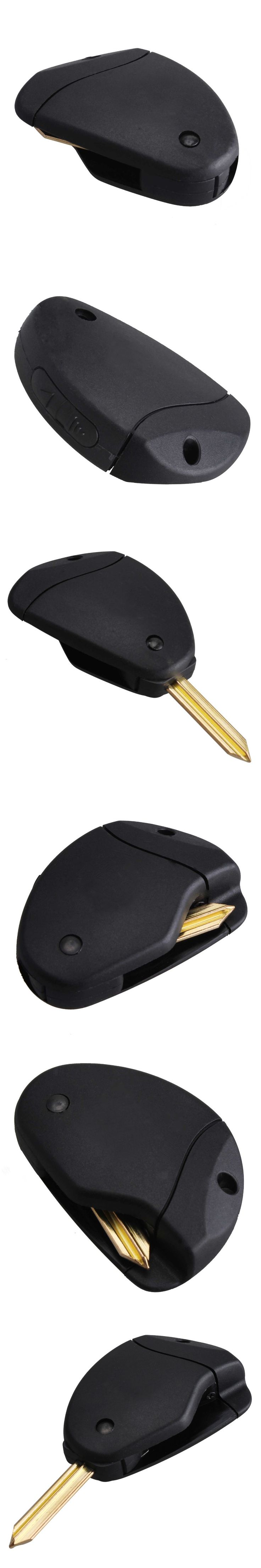 3 Buttons Uncut Blade Remote Car Key Refit Cover Case Shell For Citroen Evasion/Synergie/Xsara/Xantia Refit Key Shell Case Cover