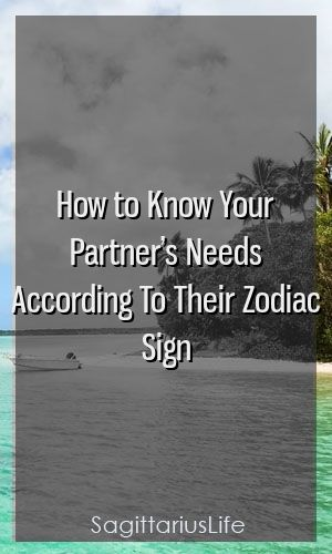 How to Know Your Partner's Needs According To Their Zodiac Sign