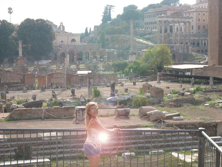 ruínas e Foro romano...