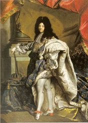 Portret van Lodewijk XIV, 1701, door Rigaud