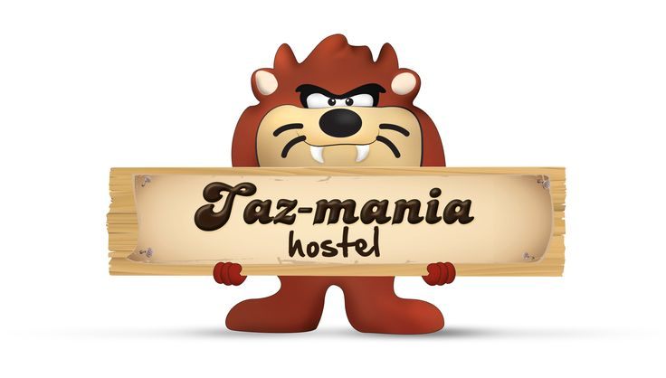 Tazmania for hostel.