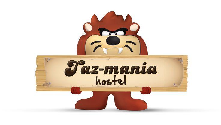 Tazmania for hostel.