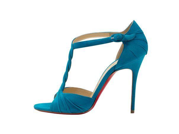 EN IMAGES. Dix paires de chaussures colorées pour la mariée Louboutin Gianvito Rossi - L'Express Styles