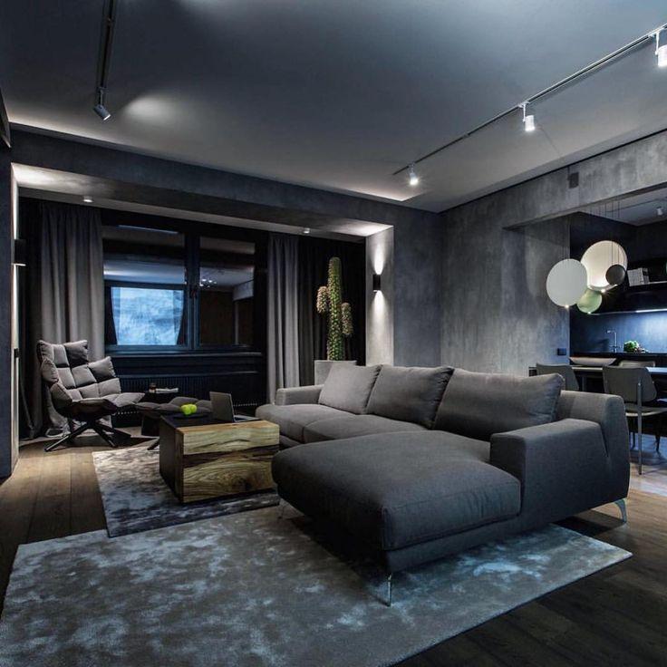 Die besten 25+ Graue wohnzimmer Ideen auf Pinterest - wohnung in grau