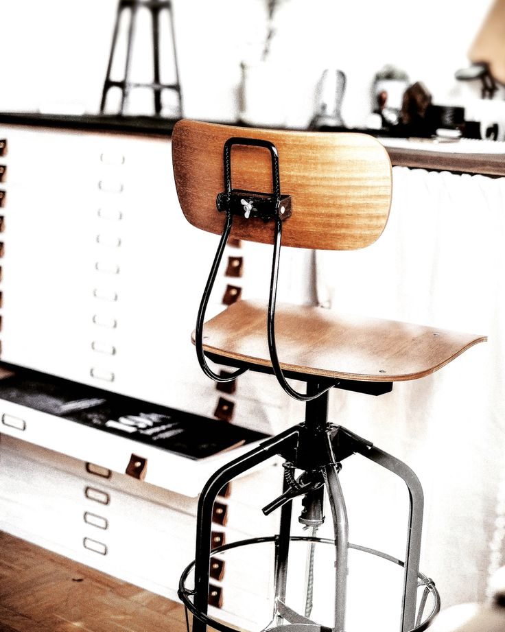 Toledo chair at Grafstad Designbyrå #chair #stool #vintage #interior #blackandwhite