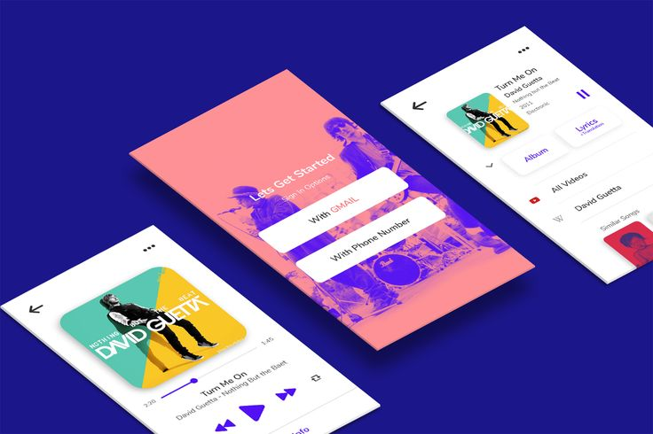 iRIS Music app #UI #UX #Visual #Interaction #app #music
