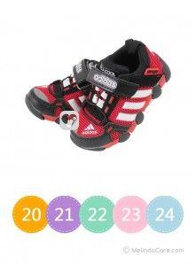 Sepatu Anak Adidas Merah Hitam Rp. 145.000 www.melindacare.com atau hubungi 081321148408 dan Pin 765BEE5E