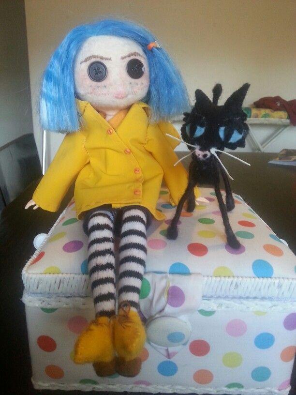 Coraline & Wuss Puss
