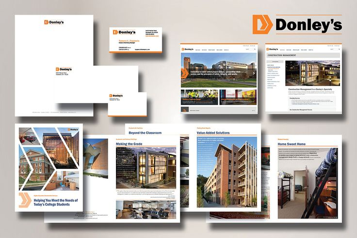 Corporate Identity, 3rd Place, Donley's, Inc., Cleveland, OH