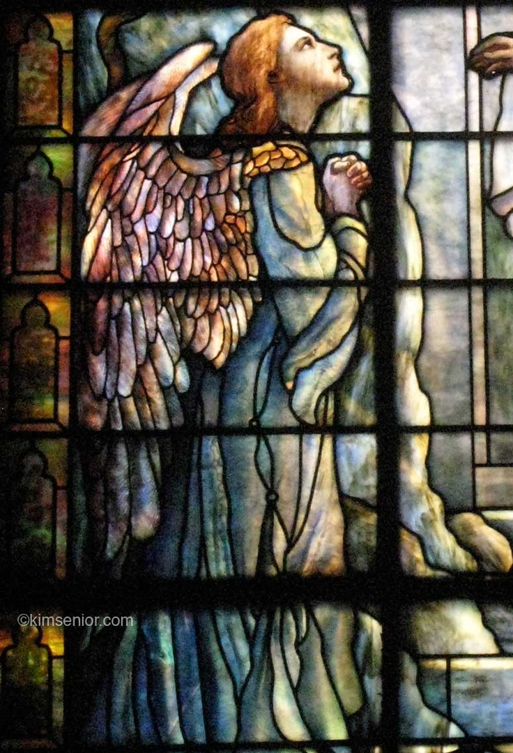 Tiffany Studios | Resurrection window, detail | Leaded glass | Calvary Methodist Episcopal Church, Philadelphia, PA