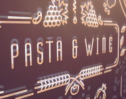 "Check out new work on my @Behance portfolio: ""Pasta & Wine"" http://be.net/gallery/33139429/Pasta-Wine"