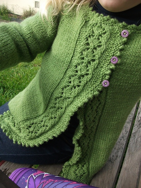 Girl's Best Cardigan pattern by Georgie Hallam