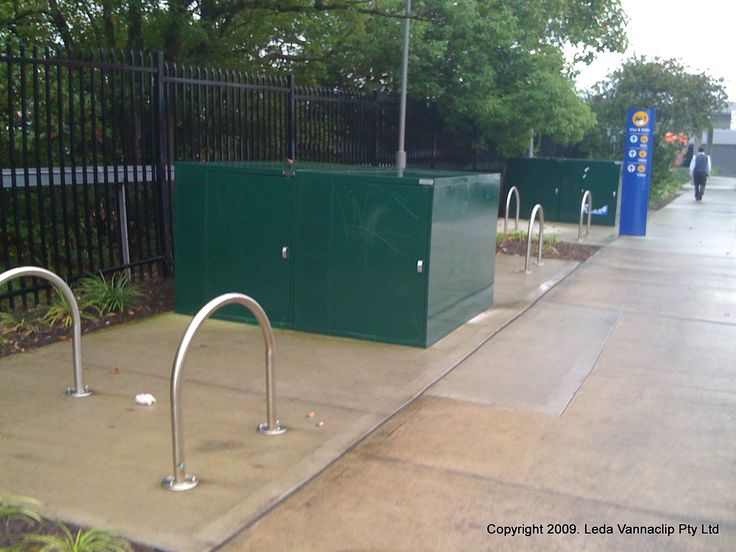 Photo in Bike lockers - Google Photos