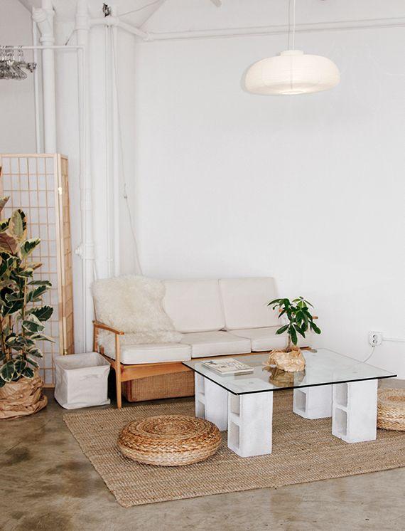 Die besten 25+ Couchtisch weiß holz Ideen auf Pinterest - wohnzimmer in wei