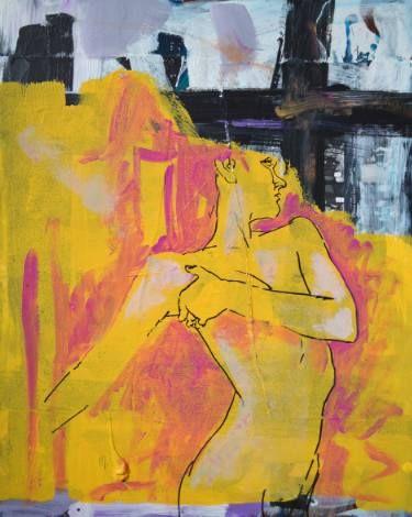 "Saatchi Art Artist Misha Dontsov; Painting, ""Window"" #art"