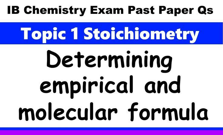 determination of the formula unit of a compound essay Dictionarycom unabridged  a set of symbols showing the composition of a chemical compound a formula lists the elements  formula one formula unit.