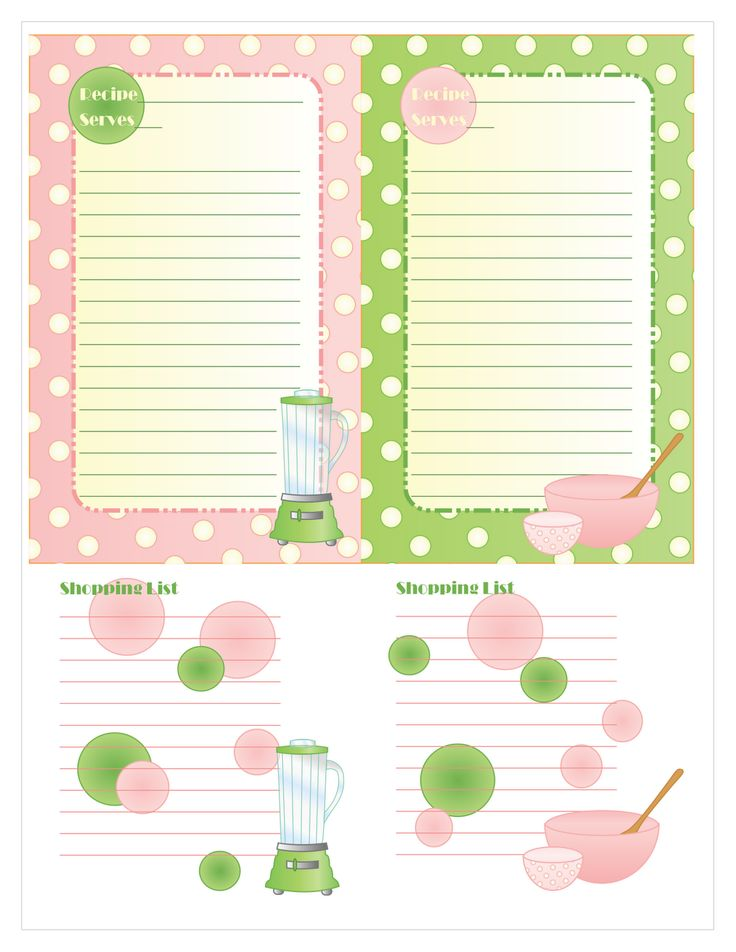17 best images about Shopping List Templates Printables on – Free List Templates
