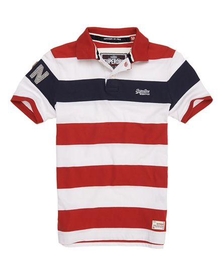 Superdry Hoopstripe Hit Polo - Men's Polo Shirts