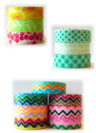 washi tape Dorm Decorating Part 2 {Wall Decor And More}