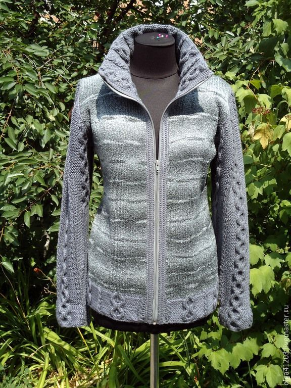 вязаная куртка с капюшоном женская фото что сильно переживает