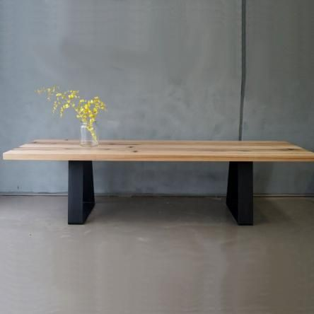 Solid Recycled Reclaimed Dining Table