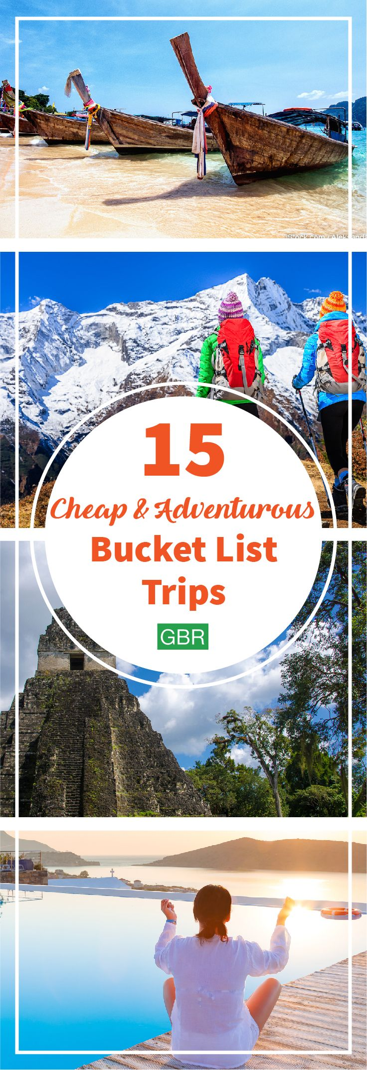 Check these adventurous trips off your travel bucket list without blowing your budget.