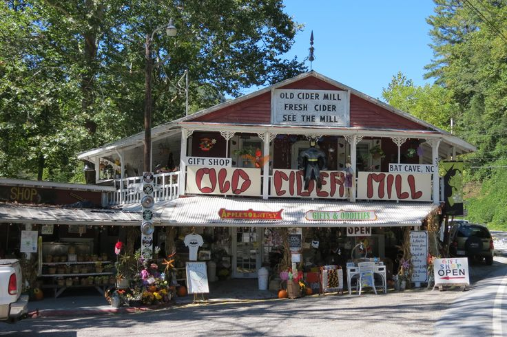 Old Apple Cider Mill in western North Carolina