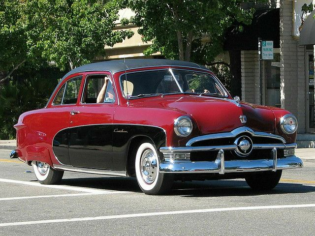 1950 Ford Crestliner...with extras...very popular car in it's time....