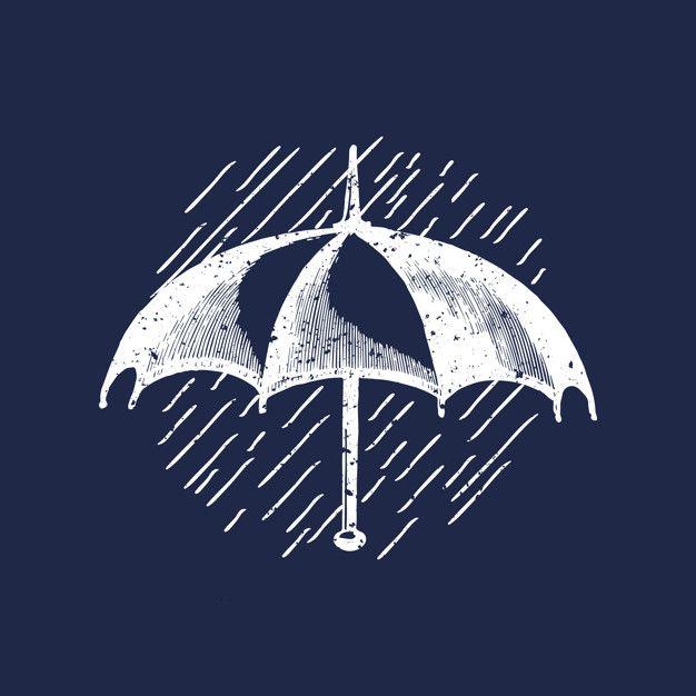 Download Classic Umbrella Logo Illustration For Free Umbrella Drawing Logo Illustration Umbrella Illustration