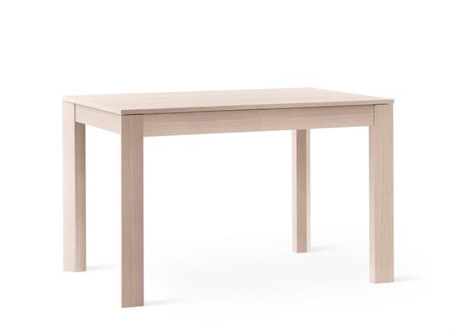 Tavolo in legno e melaminico allungabile