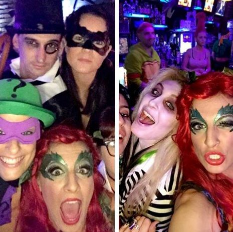 The LuMee case is perfect for #Halloween selfies with your friends!