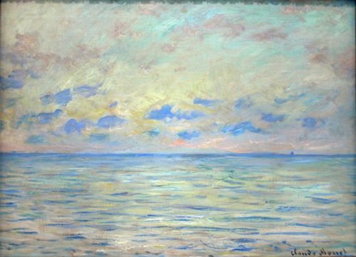 Claude Monet, Marine near Étretat, 1882