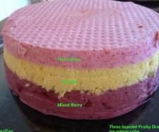 Layered Fruity Dream Icecream Cake | Official Thermomix Recipe Community