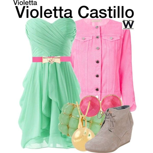 Inspired by Martina Stoessel as Violetta Castillo on Violetta.